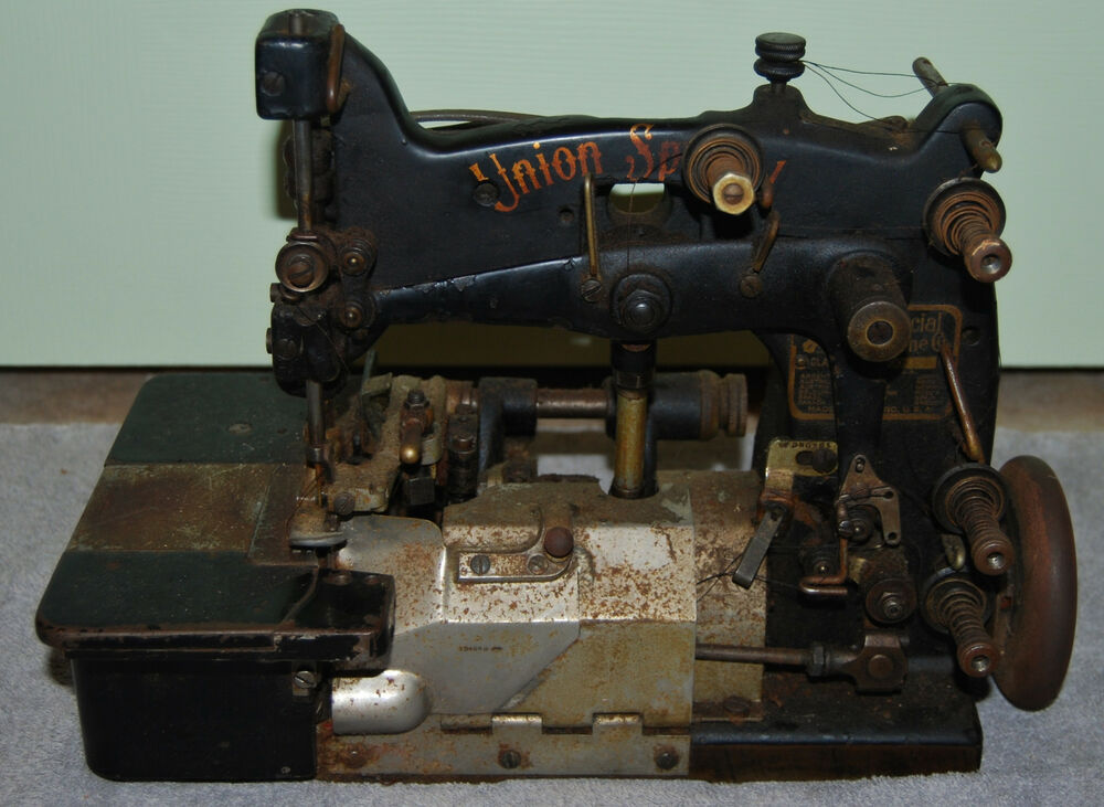 Cannot be! Vintage sewing machine union special there can