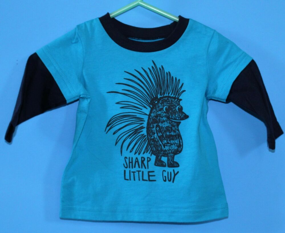 485216820ebe Details about H219 NWT Okie Dokie baby Boy Clothes Long Sleeve T-Shirt 6  months