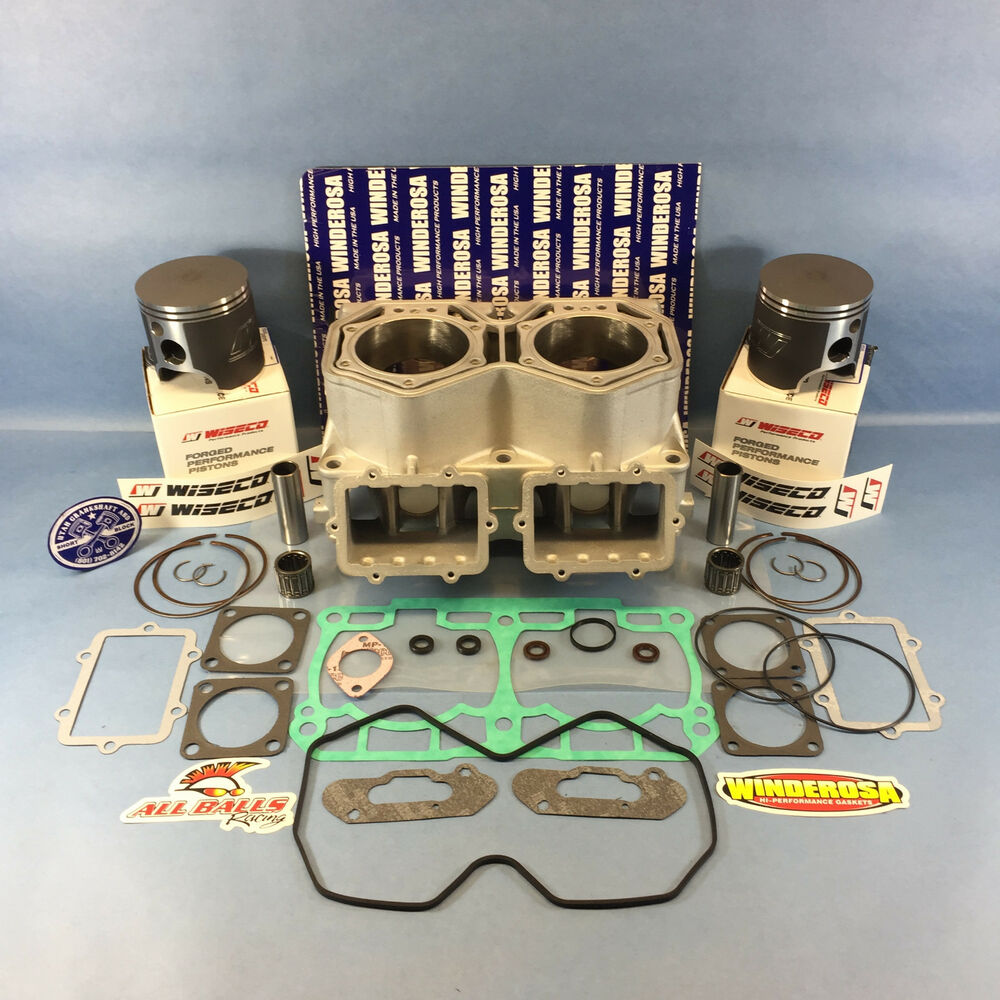 SKI-DOO 800R CYLINDER TOP END KIT WISECO PISTONS 07-09 ...