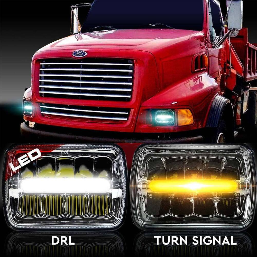 Commercial Vehicle Lighting: LED Headlamps Headlights For Western Star Semi Truck