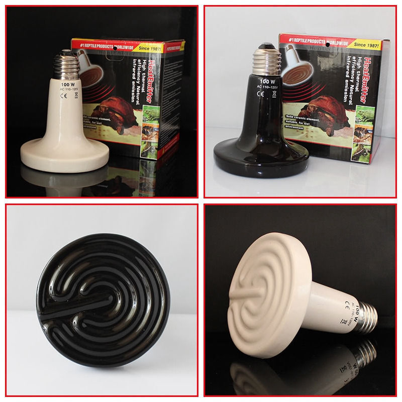 ceramic emitter heat lamp grow plant lamp pet reptile heater ebay. Black Bedroom Furniture Sets. Home Design Ideas