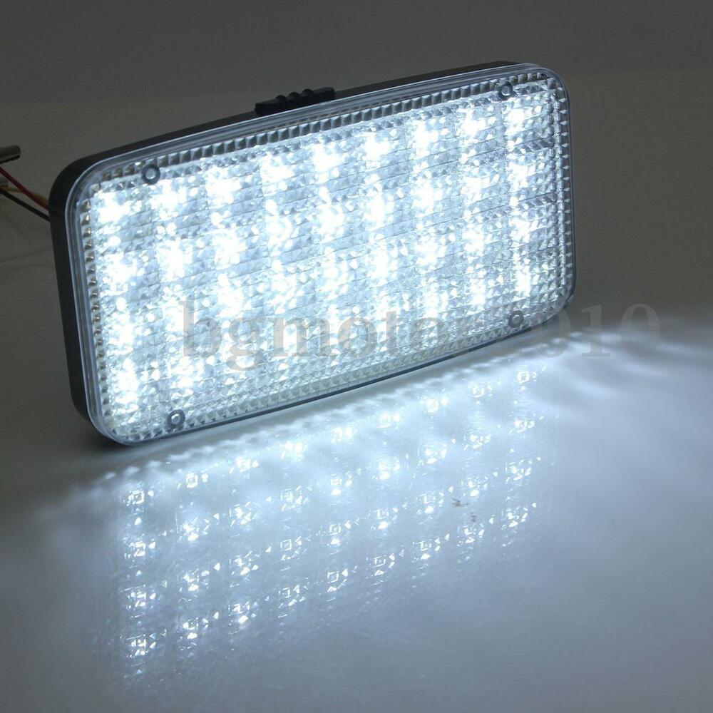 dc 12v 36 led car truck interior dome roof ceiling lamp light bulb bright white ebay. Black Bedroom Furniture Sets. Home Design Ideas