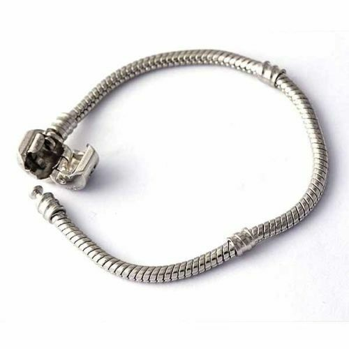 Chain Bracelet Womens: Fashion Fit Mens Womens Wrist Silver Plated Stainless
