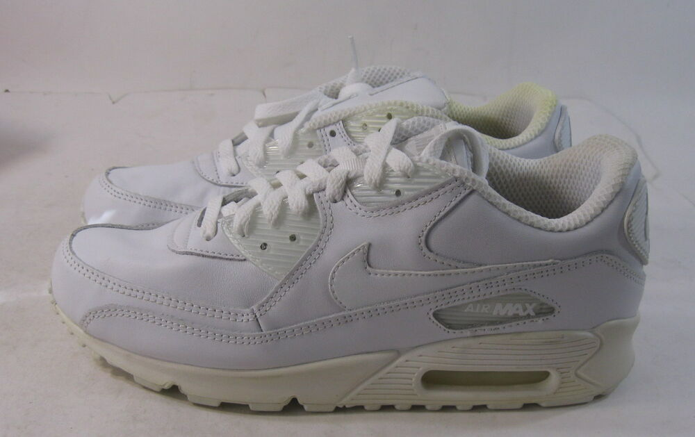 online store e379b d2890 Details about new Nike Air Max 90 Leather Mens Shoes White 302519-113 Size  9.5