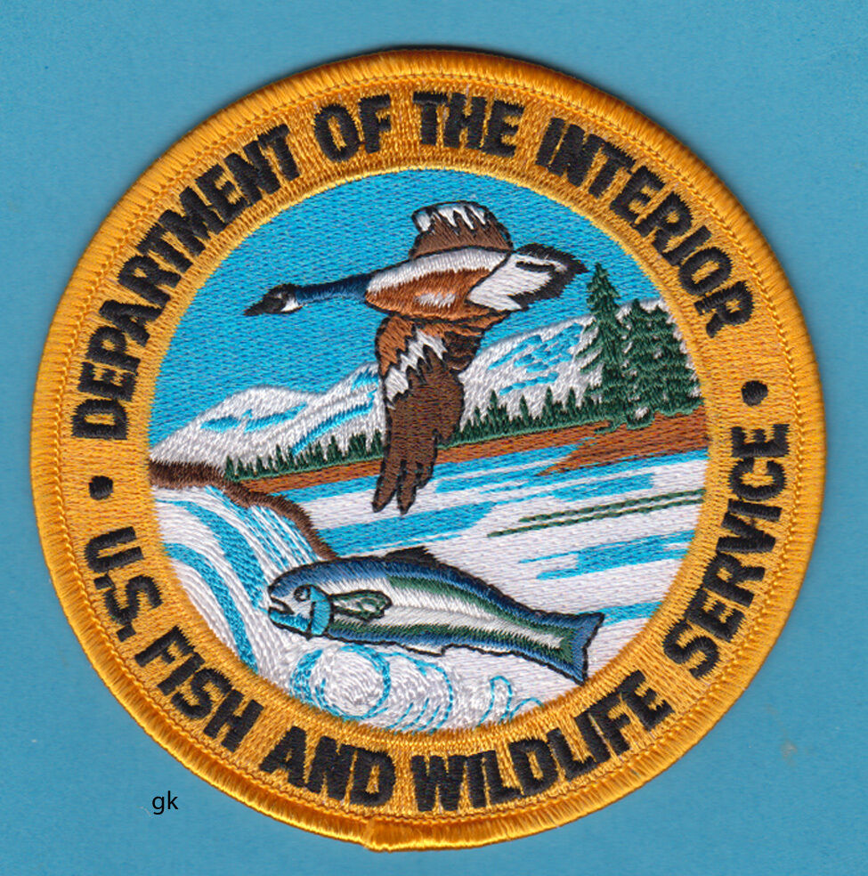 DEPARTMENT OF THE INTERIOR FISH AND WILDLIFE SERVICE ...