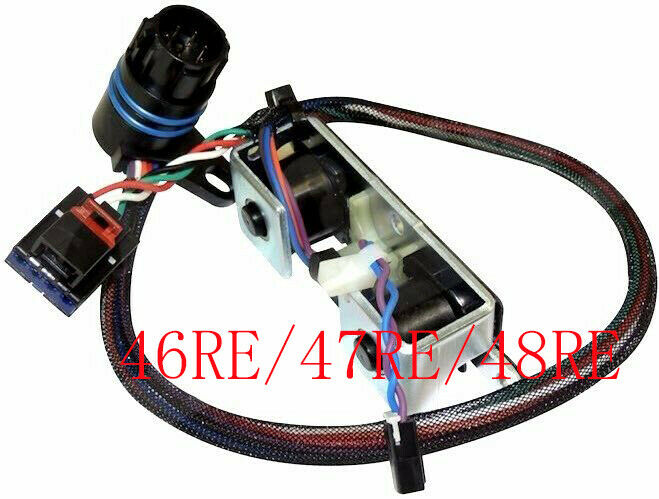46re dual overdrive solenoid tcc lockup 96 99 dodge ram 1500 3500 ebay. Black Bedroom Furniture Sets. Home Design Ideas
