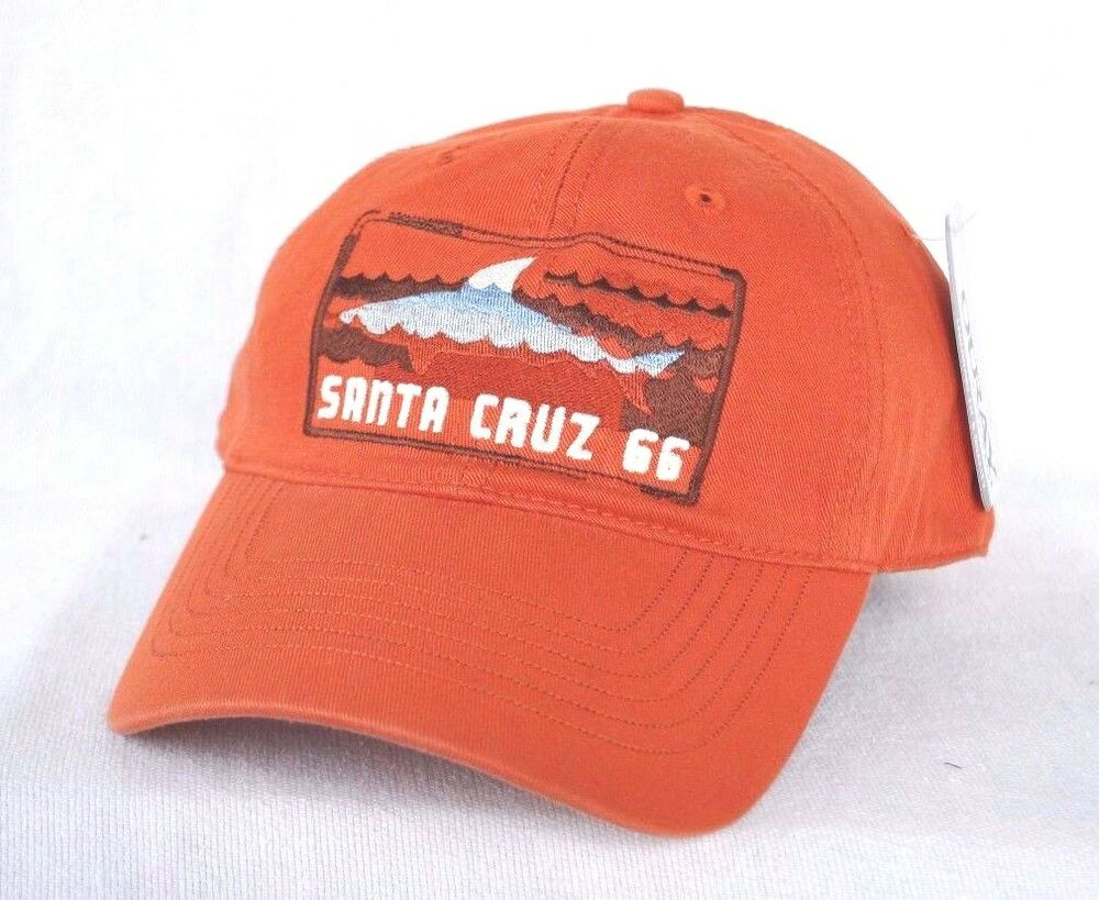 Details about  SANTA CRUZ  California Shark Ball cap hat OURAY embroidered  sample 51000 Epic 5aadbbd0867