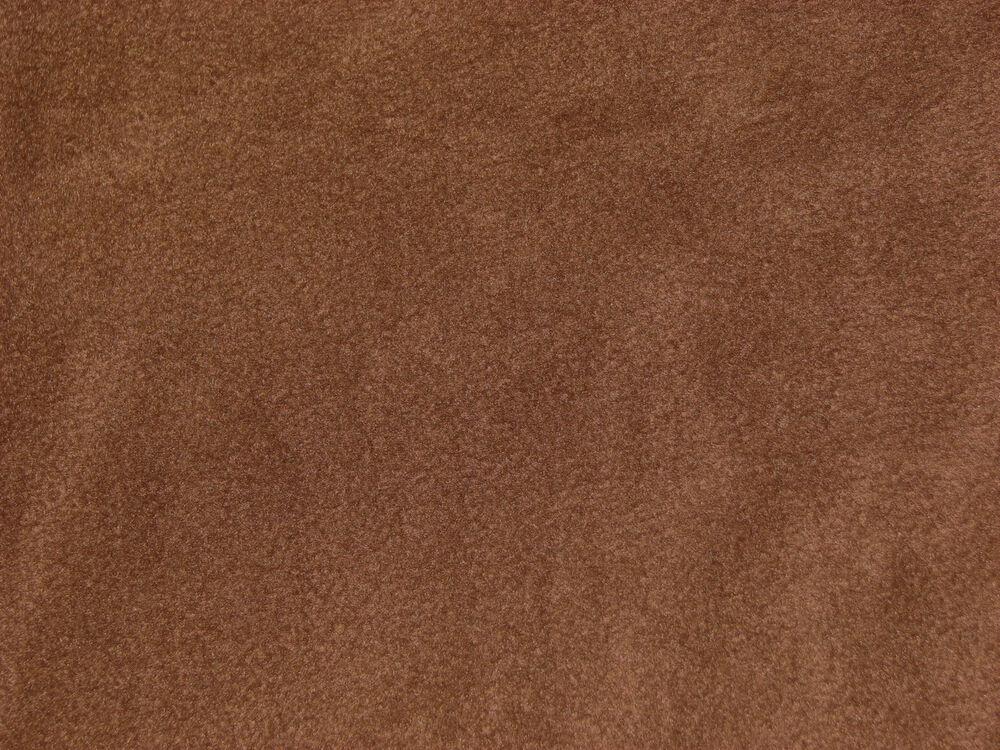 chocolate brown solid color anti pill fleece fabric by the yard bty ebay. Black Bedroom Furniture Sets. Home Design Ideas