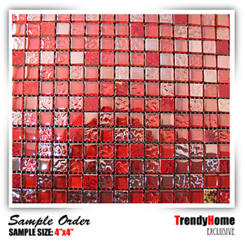 red wall tiles kitchen sample glass mosaic tile wall kitchen backsplash wall 4613