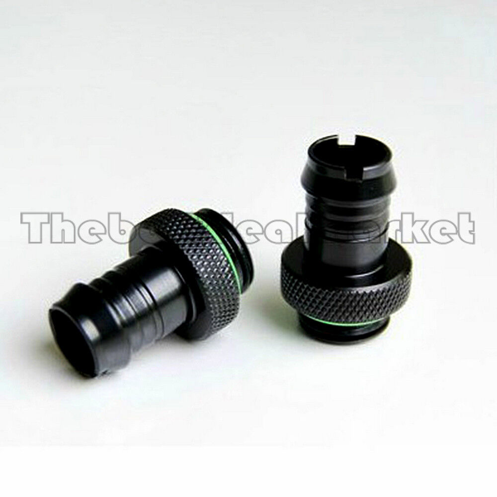 Pcs barb fitting for water cooling radiator quot id
