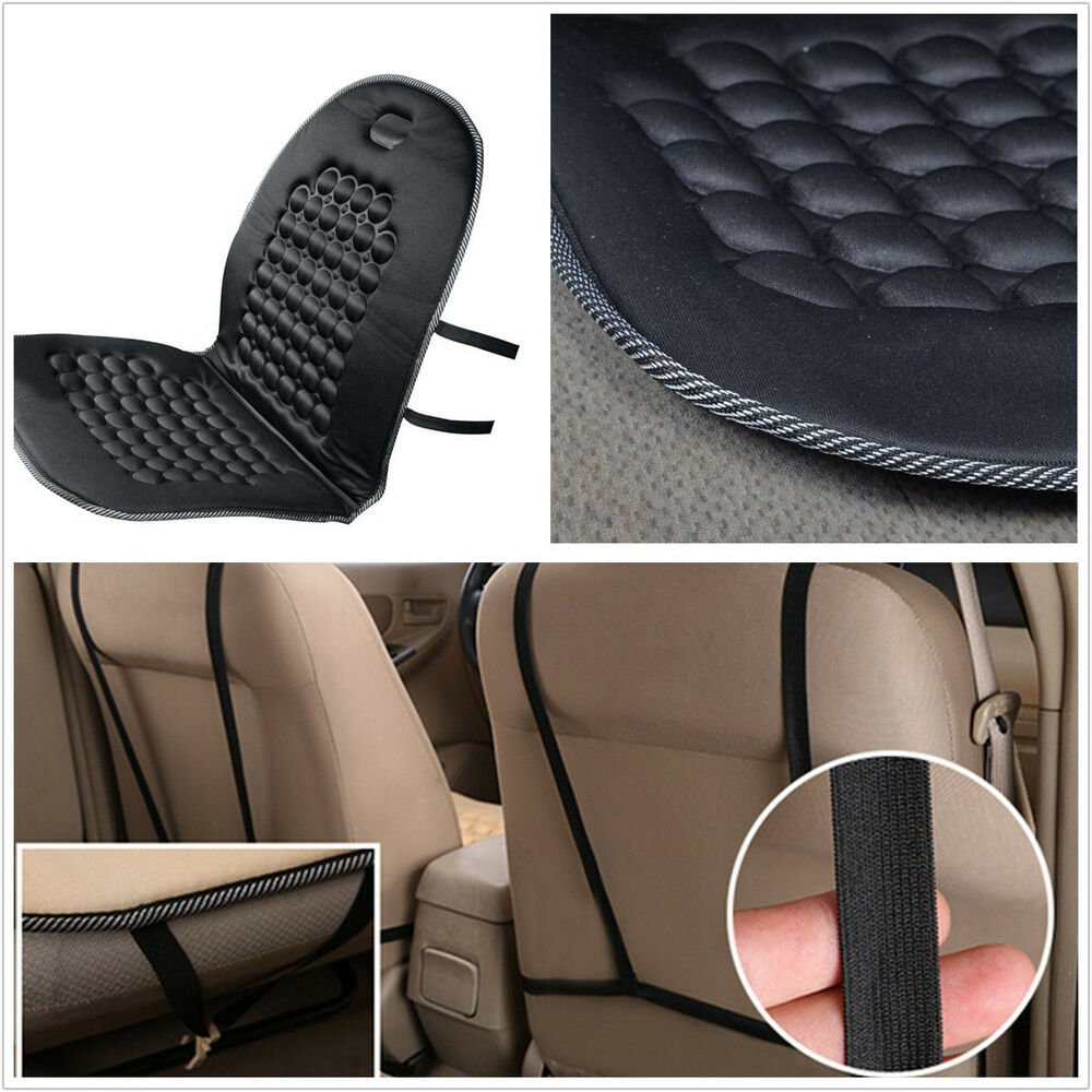 portable black space memory foam car interior seat cover cushion massage mat pad ebay. Black Bedroom Furniture Sets. Home Design Ideas