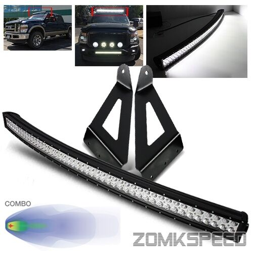 For 99 16 F250 F350 Super Duty 50 Quot 288w Curved Led Light