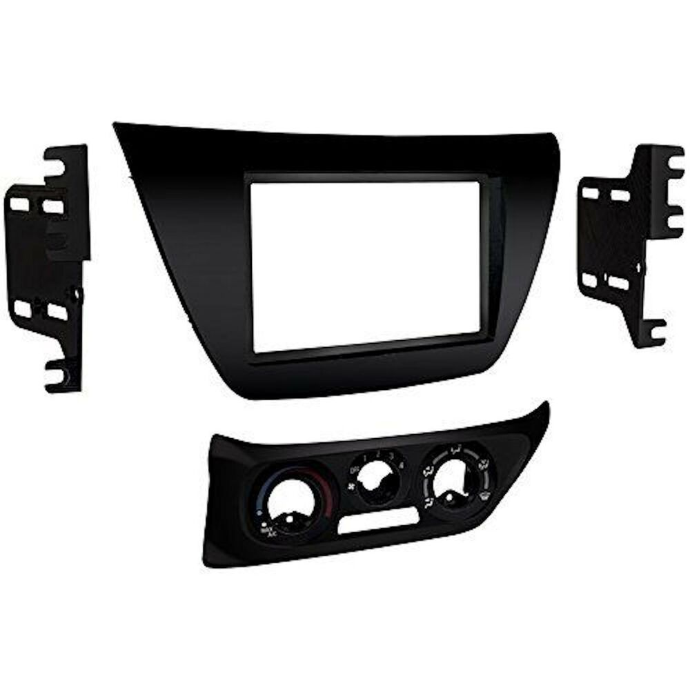 Metra 95-7017b Black Double Din Stereo Dash Kit 2002-2007