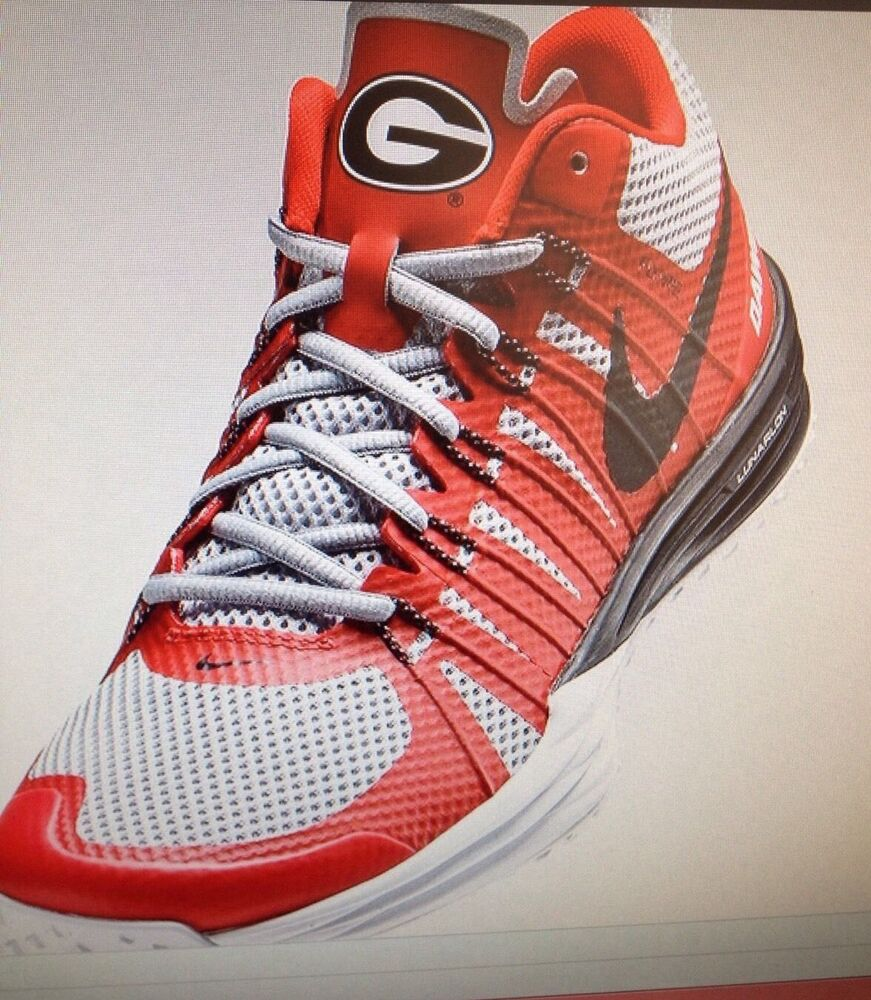 georgia bulldog nike shoes nike lunar tr1 georgia bulldogs university mens football 5329