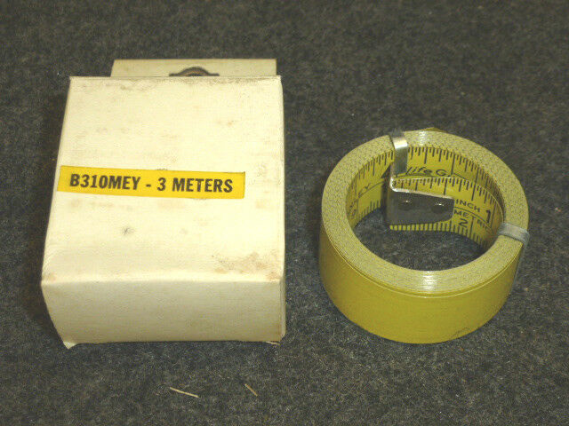 Nos Vintage Stanley Tape Measure Replacement 3 4 X 3 Meters Blade