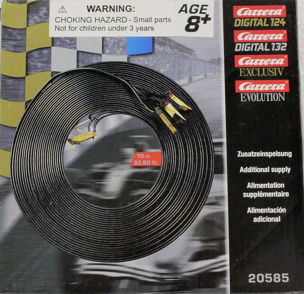 carrera 20585 10m jumper cable new in package 1 24 1 32. Black Bedroom Furniture Sets. Home Design Ideas
