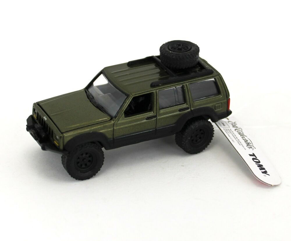 Johnny Lightning *DARK METALLIC GREEN* Jeep Cherokee 4x4 ...
