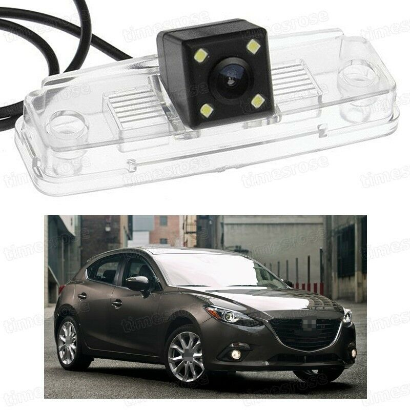 Ccd Camera Rear View Reverse Backup Parking Fit For Mazda