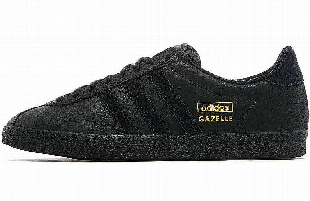 adidas all black gazelle
