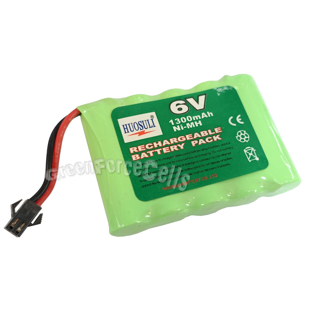 6v 5 aa 1300mah ni mh rechargeable battery pack tamiya connector for rc us stock ebay. Black Bedroom Furniture Sets. Home Design Ideas