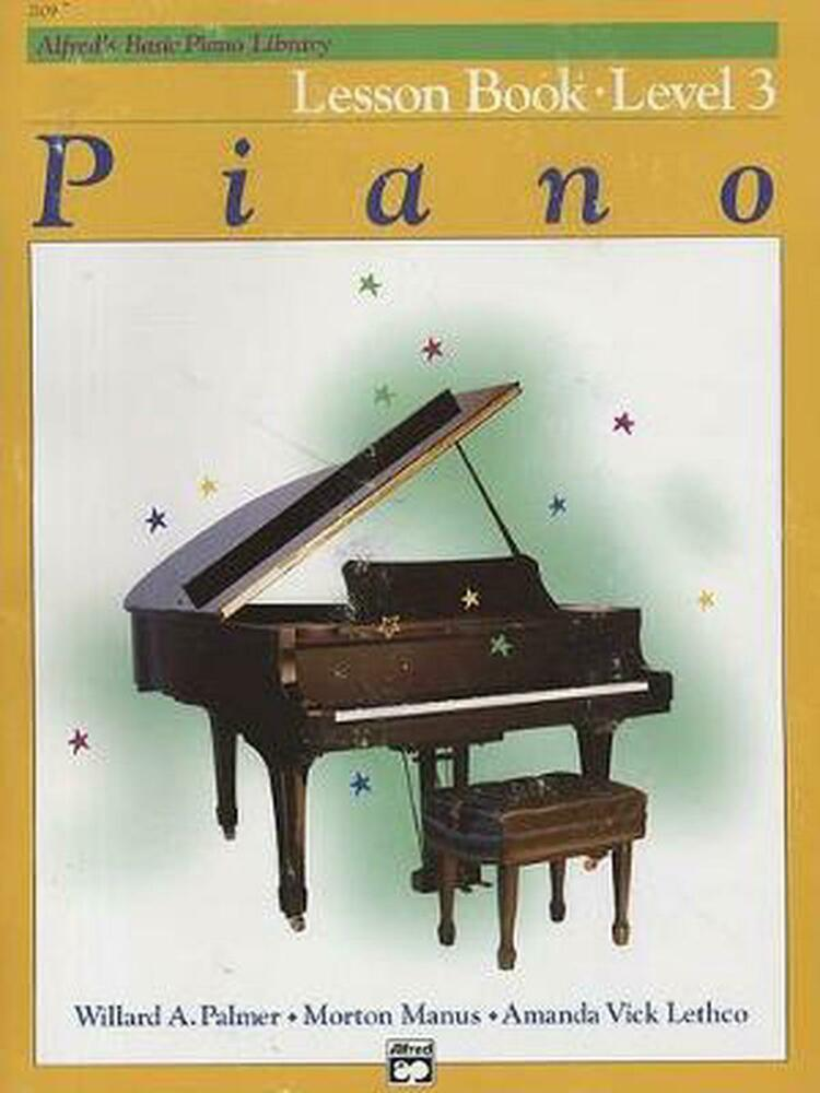 alfred adult piano book