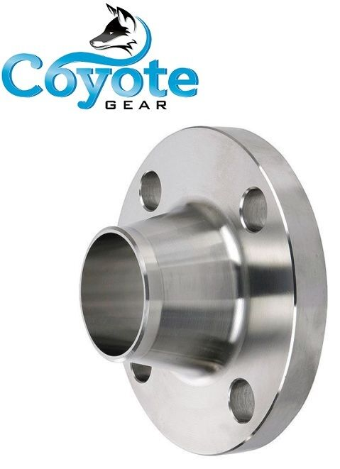 Quot raised weld neck face flange stainless steel