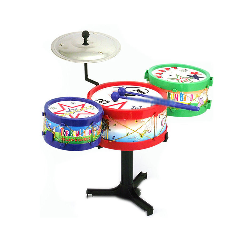 Toy Drum Musical Instruments : Children kids child musical instruments toy colorful