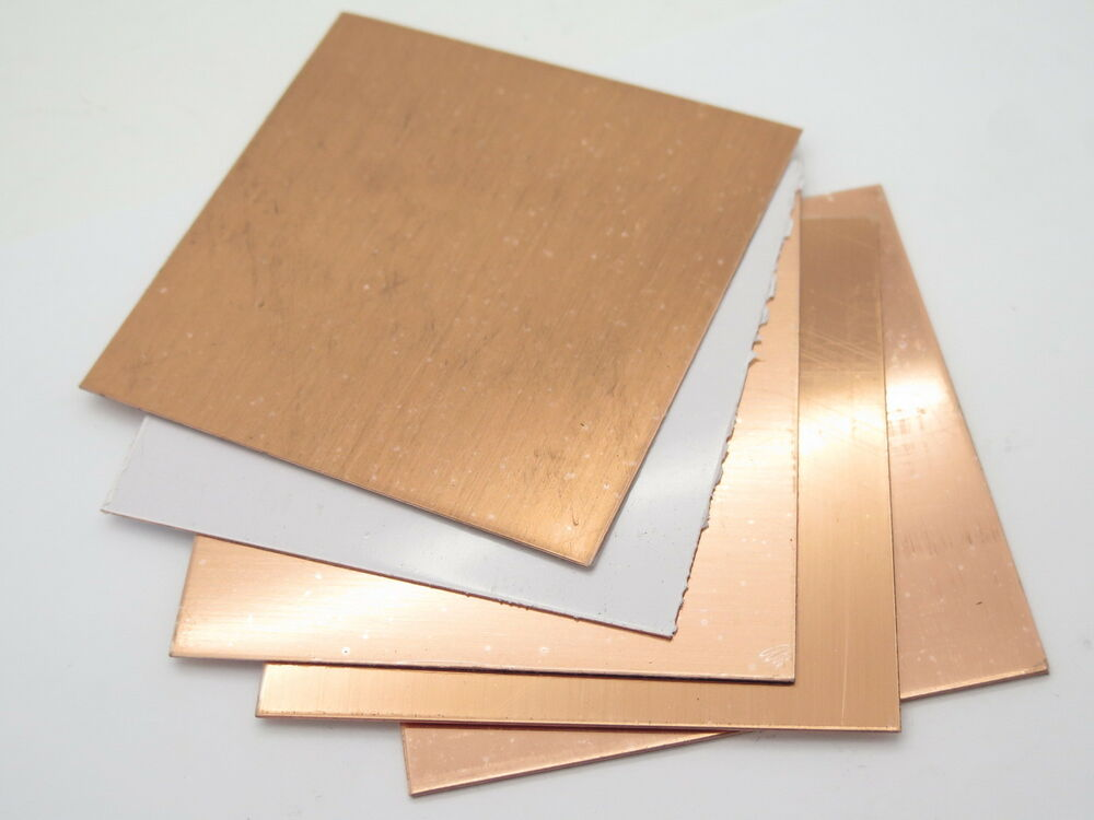 4 x 4 copper sheet jewelry craft knife making handle