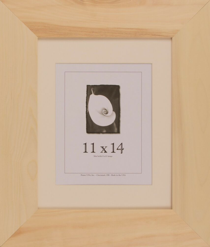 11x14 Unfinished Wood Frames 3 Inch Wide Diy Picture