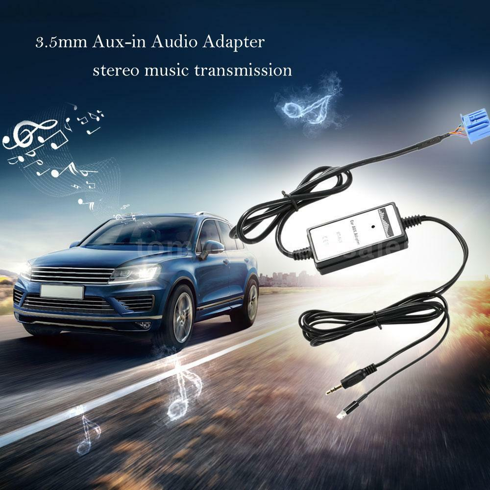 Car 3.5mm Aux Interface MP3 Audio Adapter For Acura CL EL