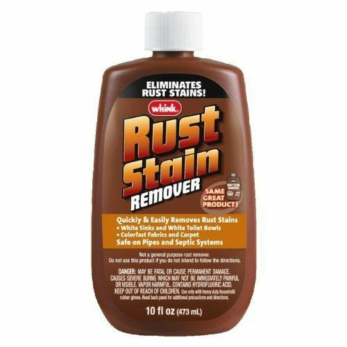 whink products 01281 10 oz rust stain remover liquid rrust remover ebay. Black Bedroom Furniture Sets. Home Design Ideas