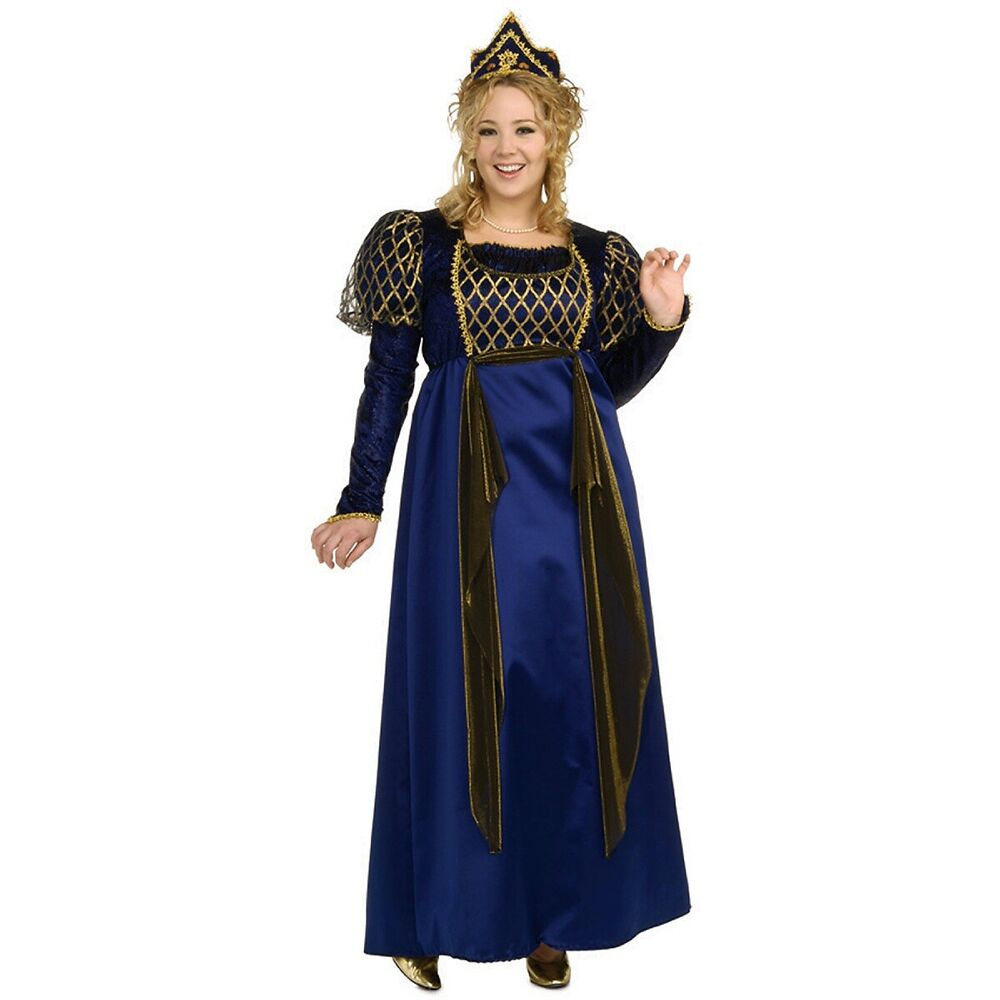 Renaissance Dress Plus Size: Renaissance Queen Plus Size Adult Womens Medieval Princess