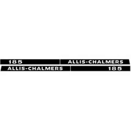 Allis Chalmers Decal Kits : New allis chalmers tractor hood decal set high quality