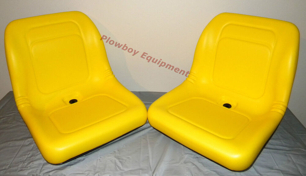 John Deere Utv >> (2) HIGH BACK Seats for John Deere Gator UTV 4x2 6x4 Diesel Trail Worksite Turf | eBay