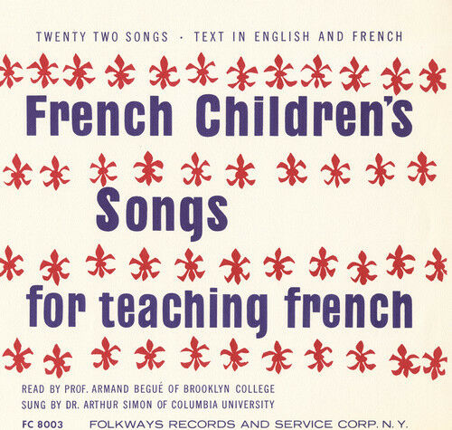 French Songs Teaching French Vocabulary and Language