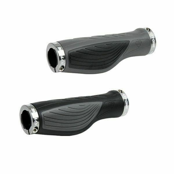 Bike Grips Rubber Mountain Bicycle MTB Handlebar Ergonomic Cycling Lock On Grip