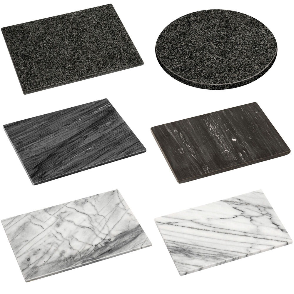 Marble Chopping Board Kitchen Cutting Slicing Pastry
