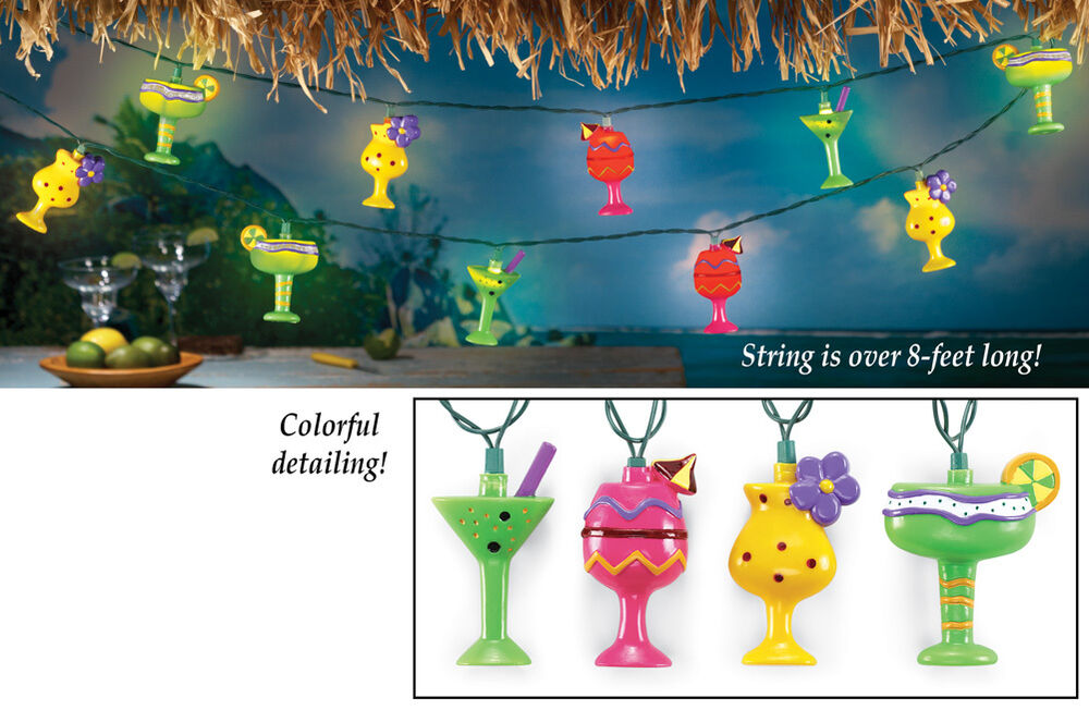 Tropical Drinks Light String Set Party Lights Lighting