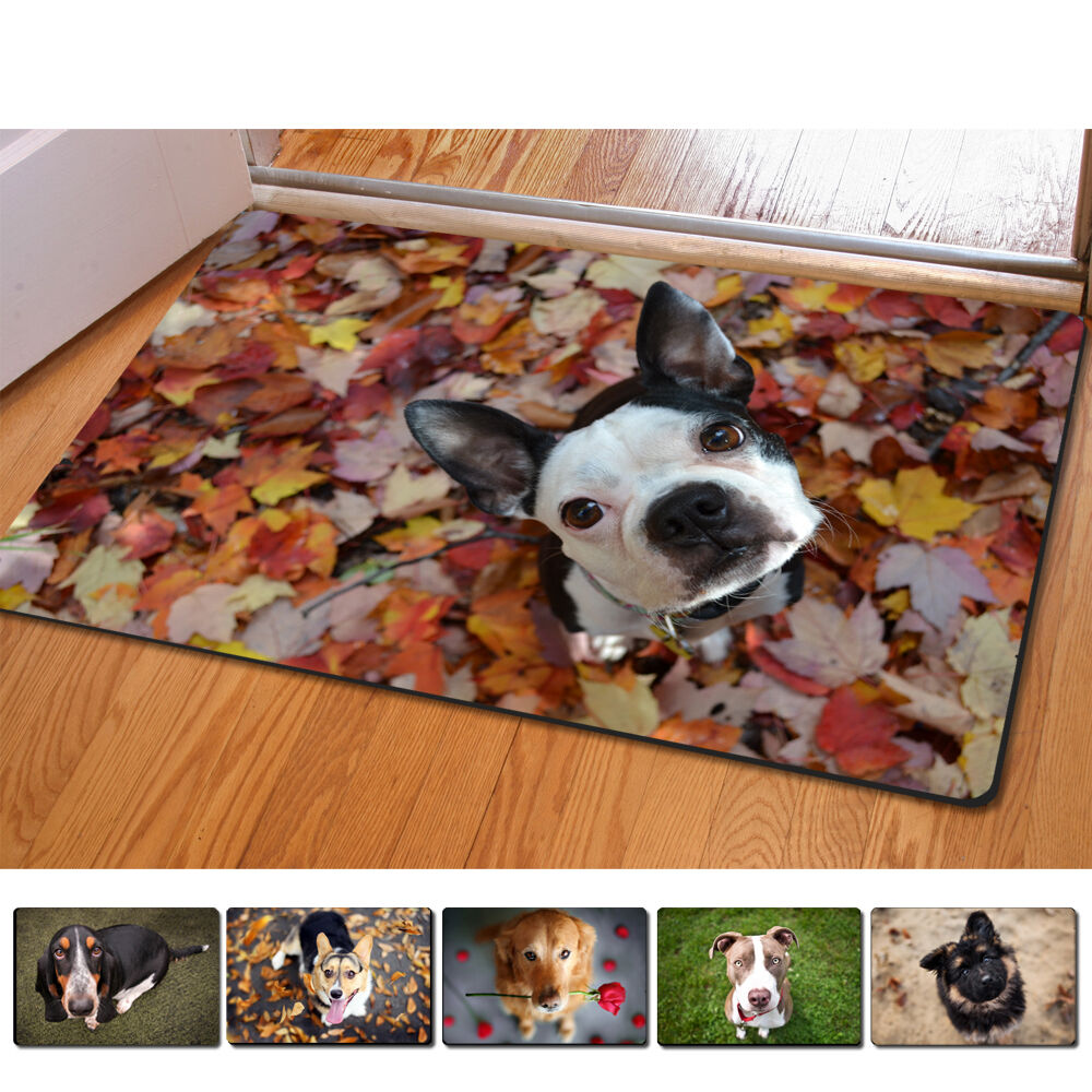 Funny Pet Dog Animal Doormat Non-slip Kitchen Bathroom