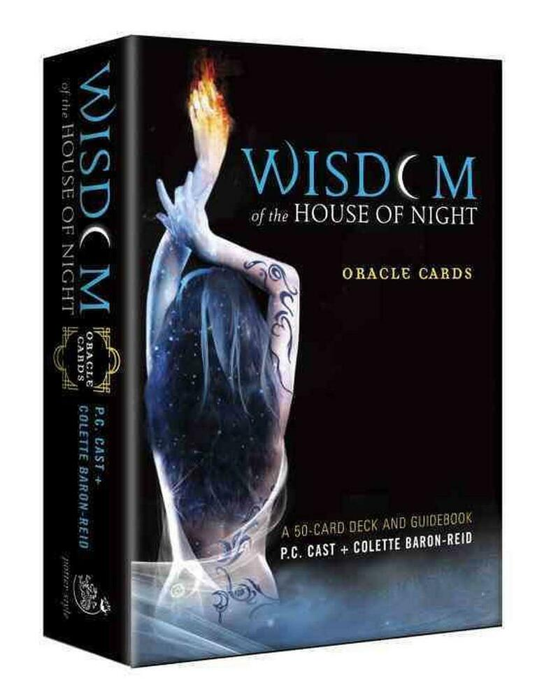Card Deck With Guidebook By: Wisdom Of The House Of Night Oracle Cards: A 50-Card Deck