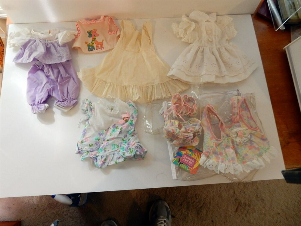 adorable vintage doll baby clothes lot ebay