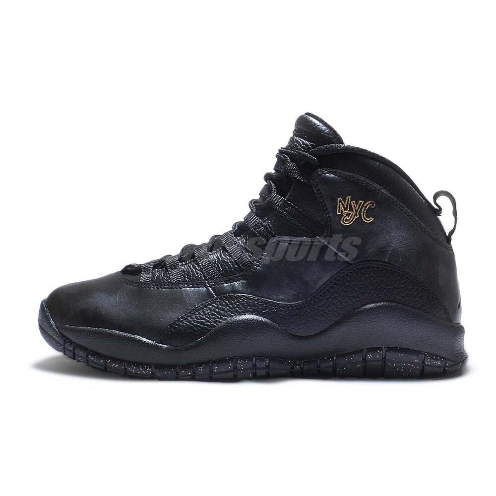 Nike Air Jordan 10 Retro X NYC New York City Pack Black Mens AJ10 310805-012 | eBay