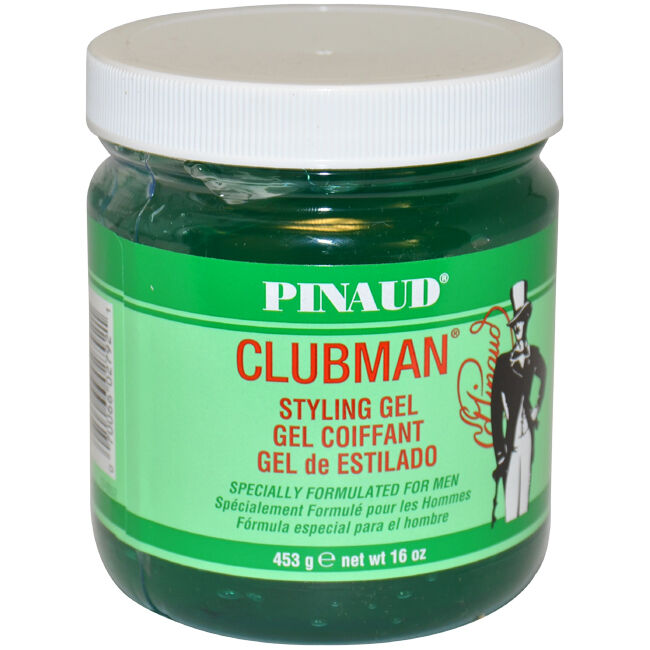 hair gel styles for clubman styling gel by ed pinaud for 16 oz gel 6624