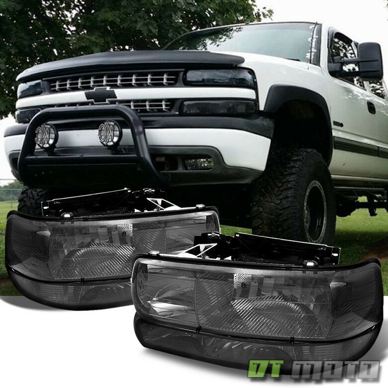 2002 Chevy Silverado Headlights