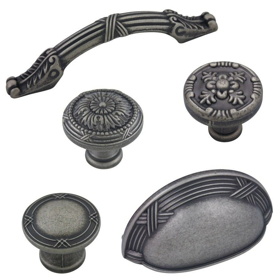 kitchen cabinet hardware pulls and knobs cosmas weathered nickel cabinet hardware knobs handles 18884