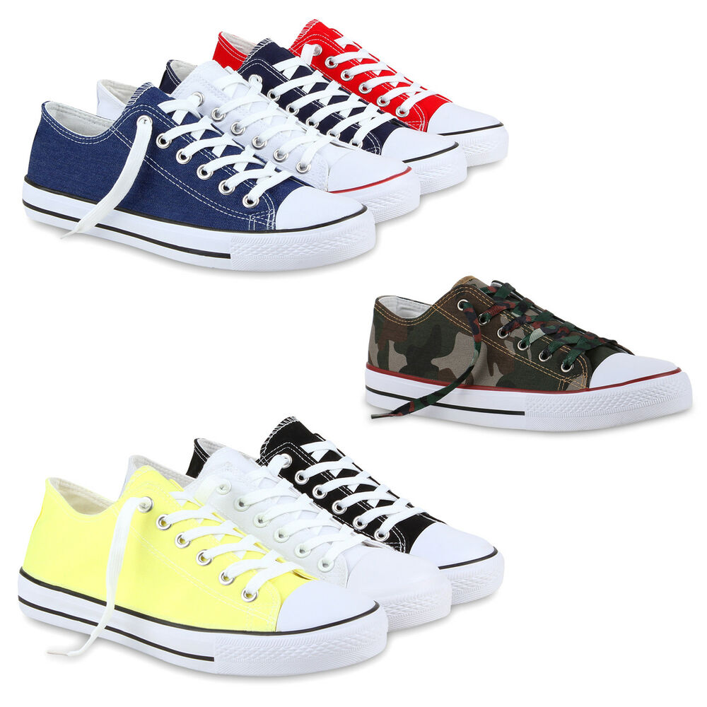 freizeit herren sneakers low viele farben gr en canvas schuh 811083 schuhe ebay. Black Bedroom Furniture Sets. Home Design Ideas