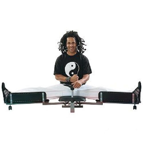 New in Box Leg Stretcher MMA Stretching Machine Split Training Martial Arts Gear