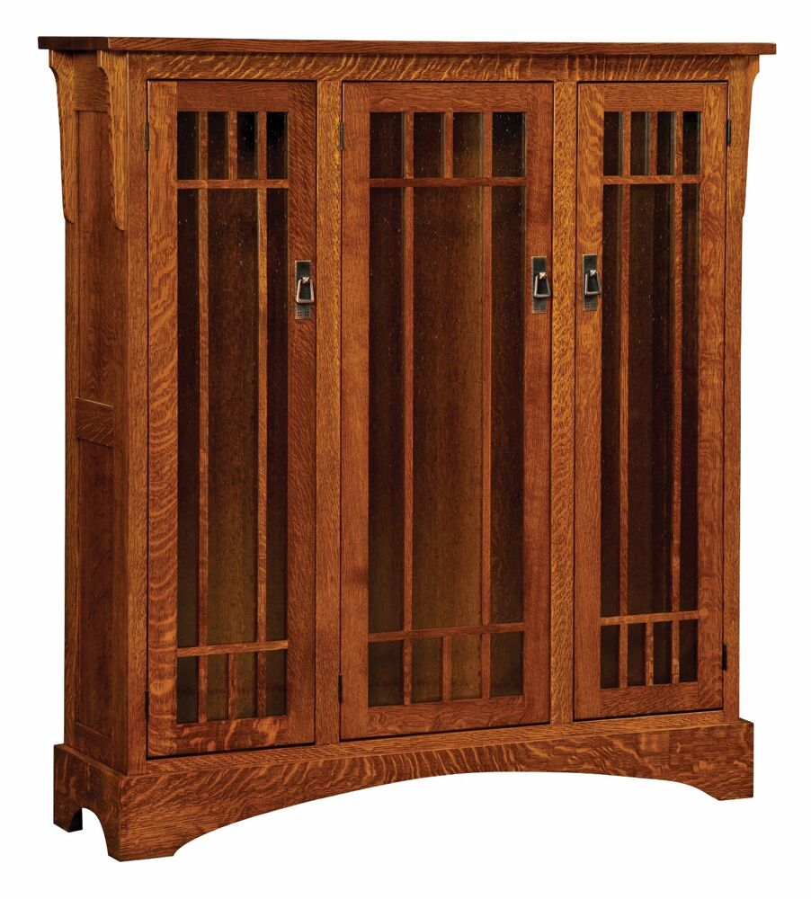 Craftsman Bookcases With Doors Styles