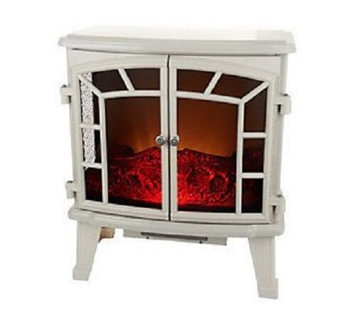 Duraflame Large Electric Stove Heater With Screen Front