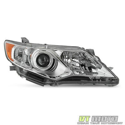 For 2012-2014 Toyota Camry L/LE/XLE Projector Headlights Right Passenger Side